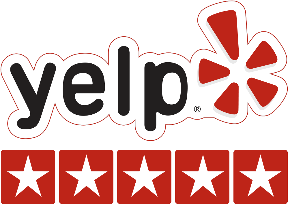 Reviews - yelp 5 star